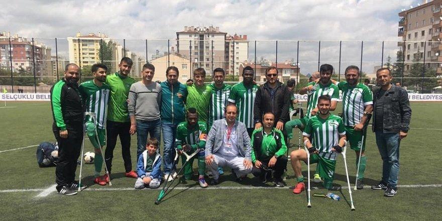 Konya Engelliler Gücü Süper Lig'de!