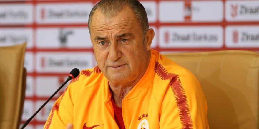 Fatih Terim: Bu hafta Galatasaraylılar için kupa haftası olsun
