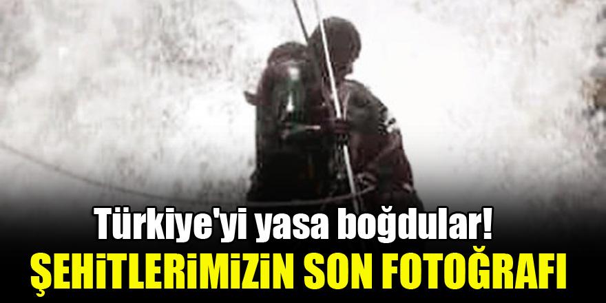 Türkiye'yi yasa boğdular! Şehitlerimizin yürekleri dağlayan son fotoğrafı