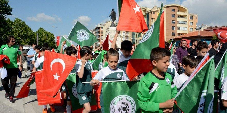 Konyaspor'da 19 Mayıs coşkusu
