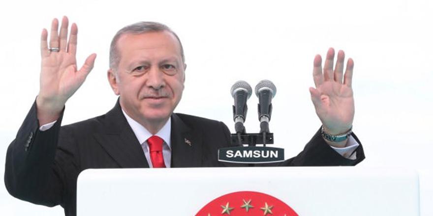 Erdoğan'dan Galatasaray mesajı