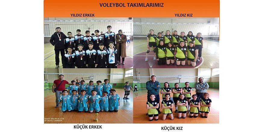 Osman Gazi Ortaokulu sporda da iddialı