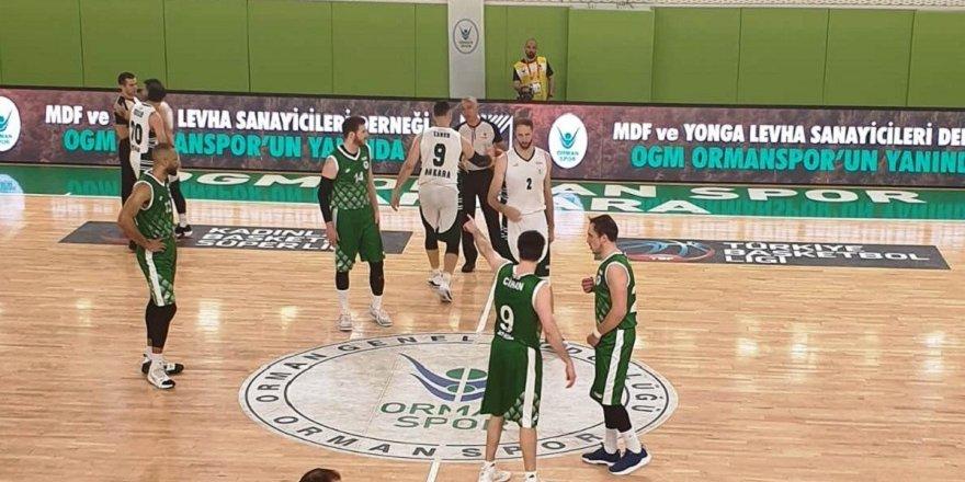 Konyaspor Basket seride 1-0 öne geçti! 73-59