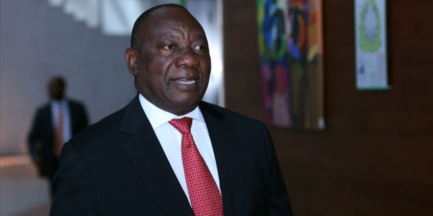 Ramaphosa yeniden Güney Afrika devlet başkanı olarak seçildi