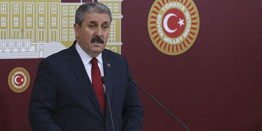 Mustafa Destici: Bu Cumhur İttifakı'na kurulmuş bir tuzaktır