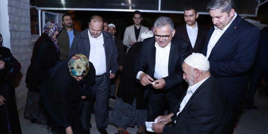 Başkan Büyükkılıç Bünyan'da