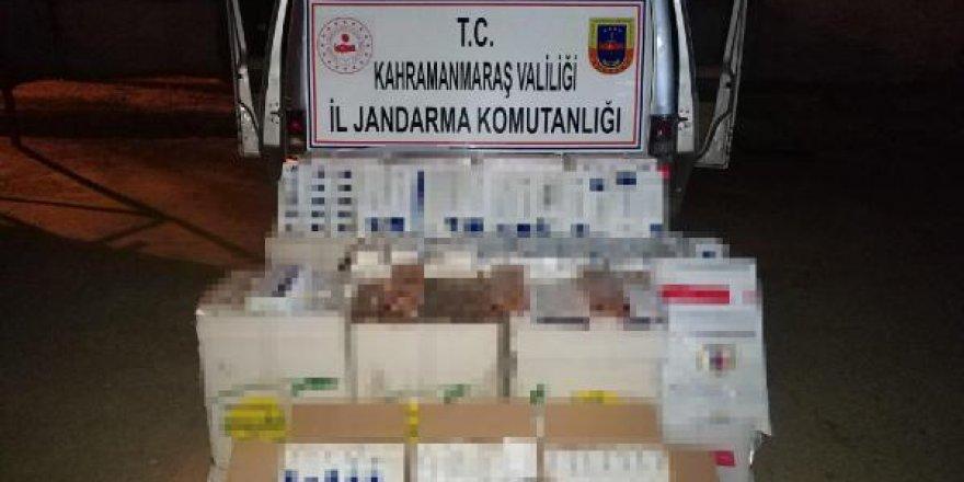 8 bin paket kaçak sigaraya 115 bin lira ceza