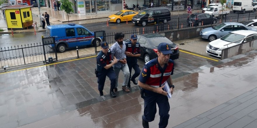 Tekirdağ'da yakalanan DEAŞ'lı adliyede