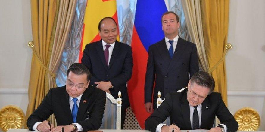 Rusya ve Vietnam arasında Nükleer Bilim ve Teknoloji Merkezi anlaşması