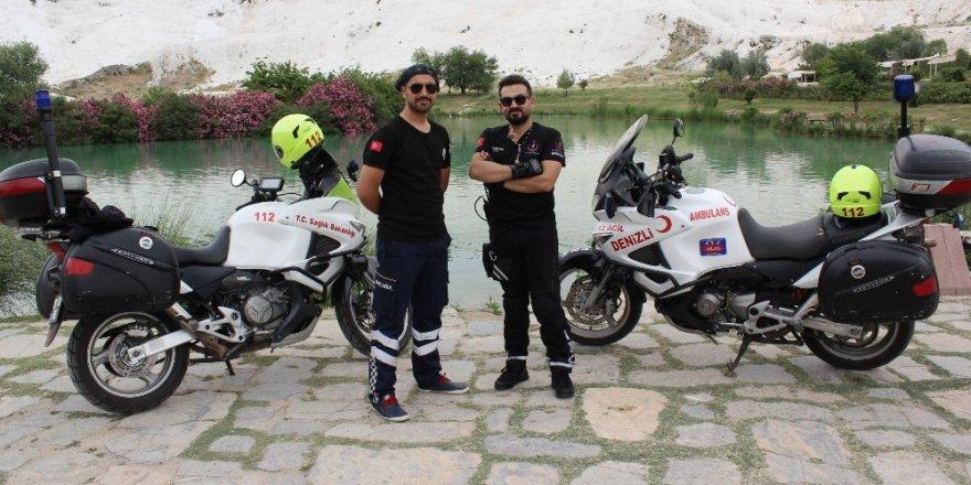 Motosiklet ambulanslar göreve başladı