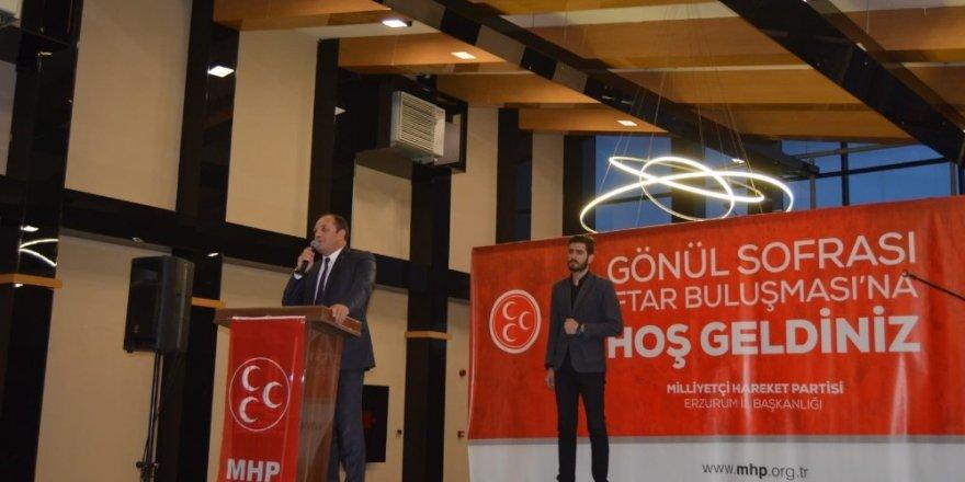 """MHP'den """"Gönül Sofrası"""" temalı iftar programı"""