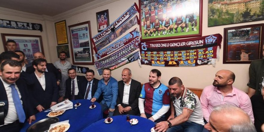 Bakanlar Albayrak ve Turhan Trabzon'da