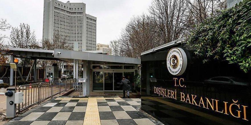 Ankara critique la résolution adoptée par l'Assemblée des représentants des États-Unis