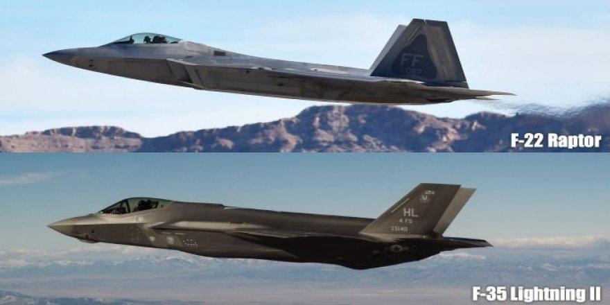 Çin, F-35 ve F-22 savaş uçaklarının gizli bilgilerini ele geçirdi