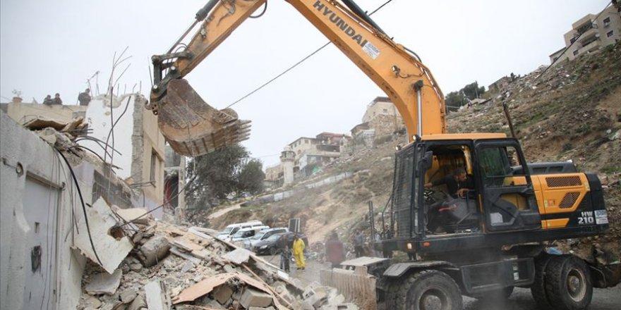 İsrail'in Batı Şeria ve Doğu Kudüs'teki yıkımları devam ediyor