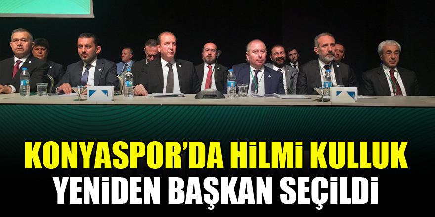 Konyaspor'da Hilmi Kulluk yeniden başkan seçildi
