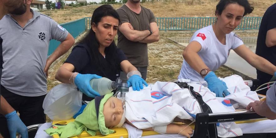 Pencereden düşen bebek hayatını kaybetti