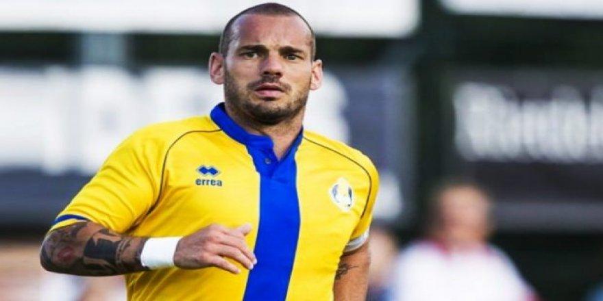 Sneijder Süper Lig'e dönüyor! Sürpriz hamle