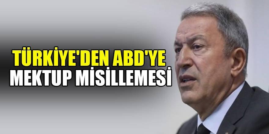 Türkiye'den ABD'ye mektup misillemesi
