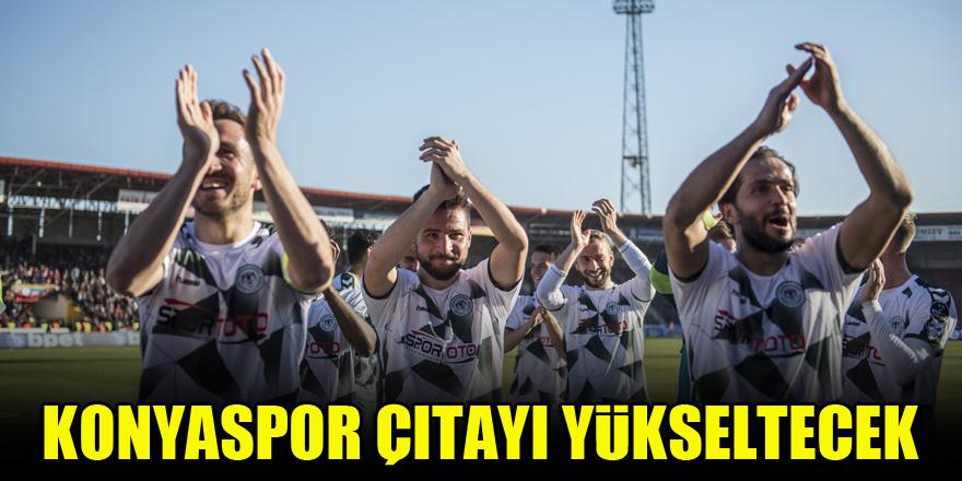 Konyaspor çıtayı yükseltecek