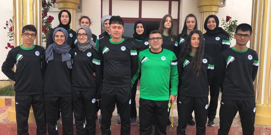 Konyaspor tekvando takımı kampa girdi