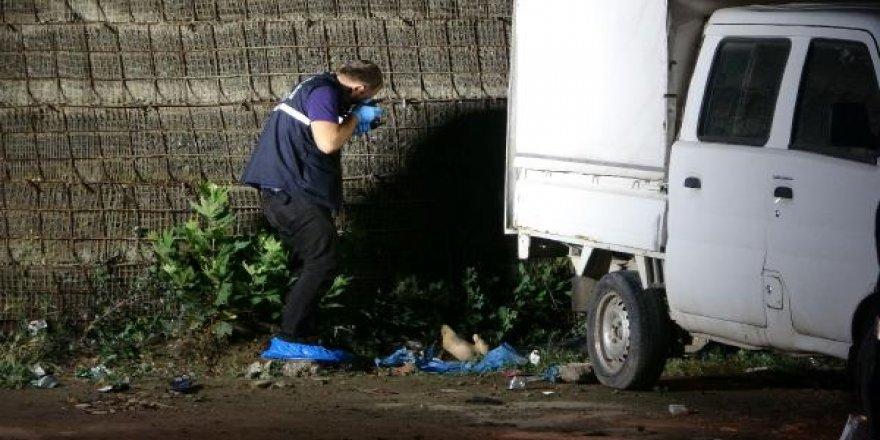 Genç kadın, boş arsada tartıştığı kişi tarafından öldürüldü