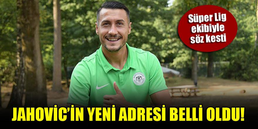Konyasporlu Adis Jahovic'in yeni adresi belli oldu!