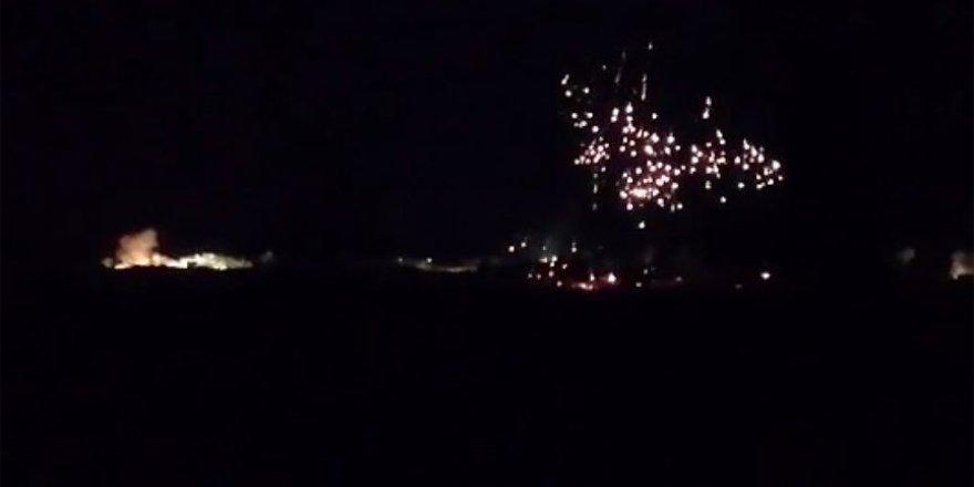 Rejim güçleri İdlib'e kullanımı yasak fosforla saldırdı