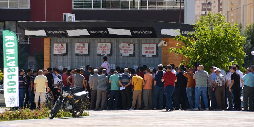 Konyaspor'da kombine kart satışları başlıyor