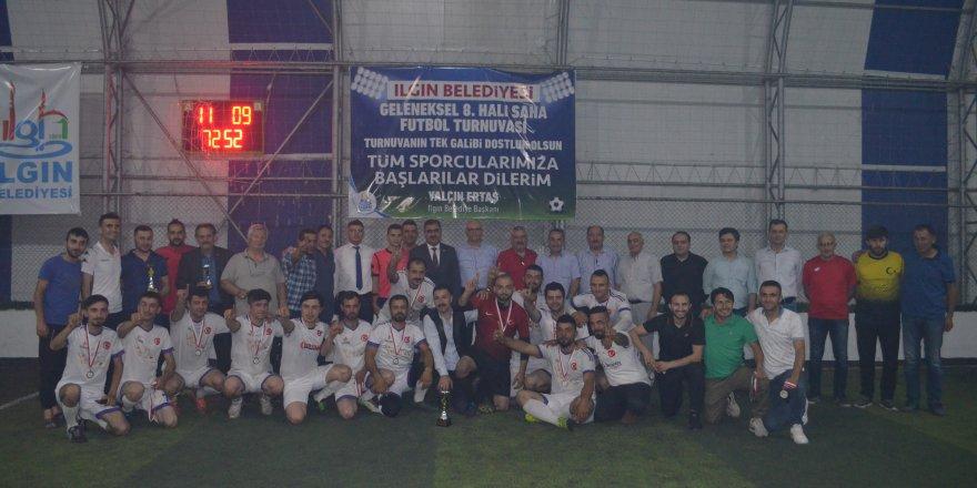 Ilgın'da 8. Halı Saha Futbol Turnuvası sona erdi