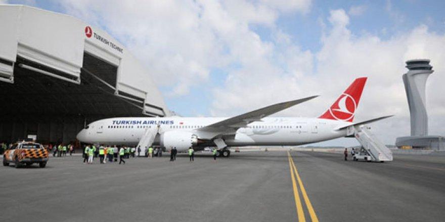 Türk Hava Yolları'nın 'rüya uçağı' İstanbul'da!