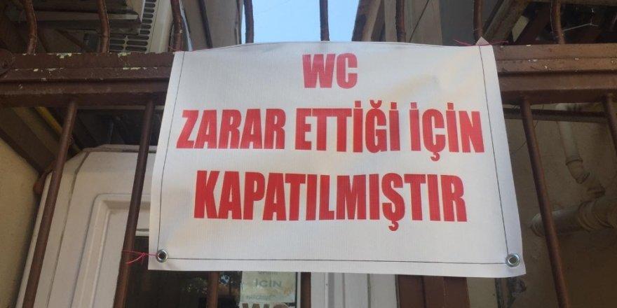 Bursa'da umumi tuvalet iflas etti