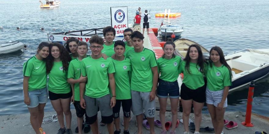 Konyasporlu yüzücülerden önemli başarı