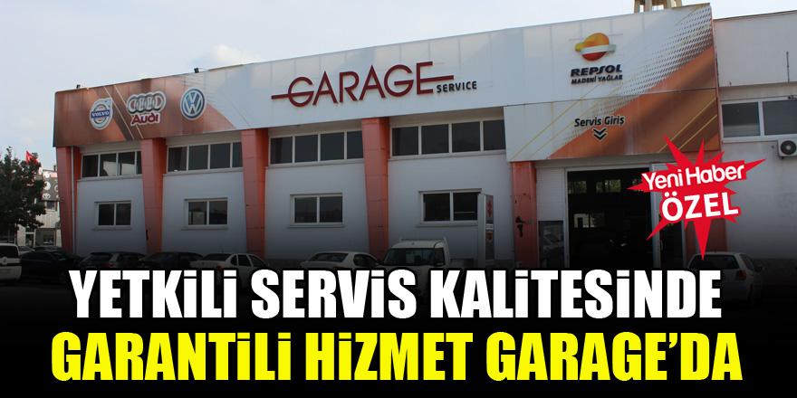 Konya Garage Servis'te uzman ekip, uygun fiyat