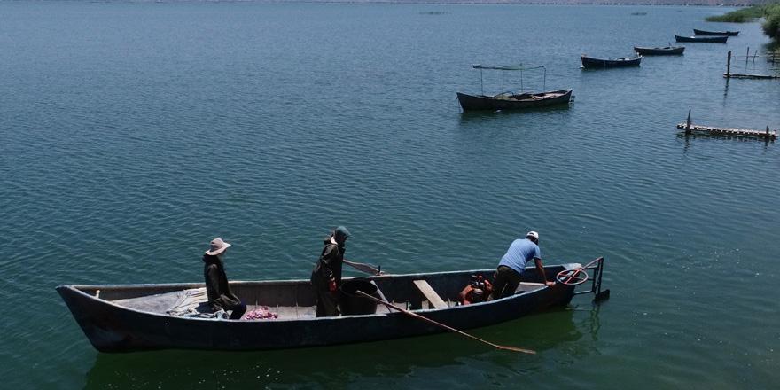 Suğla Gölü'nün balıkçı aileleri yeni sezondan umutlu