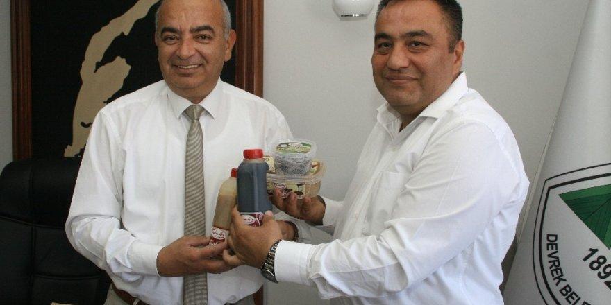 Manavgat Tarım Müdürlüğü'nden Devrek'e ziyaret
