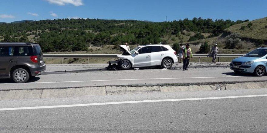 İş makinesine arkadan çarpan iş adamı kazada öldü
