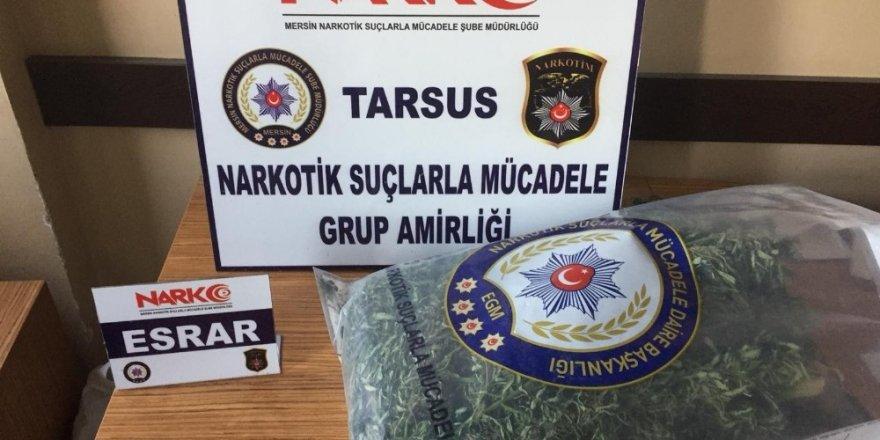Tarsus'ta 7 kilo uyuşturucu ele geçirildi