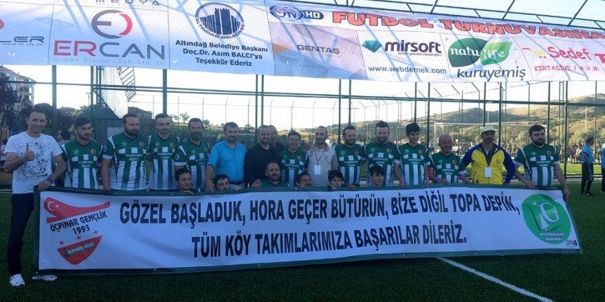 Ankara'da 15 Temmuz anısına Futbol Turnuvası düzenlendi