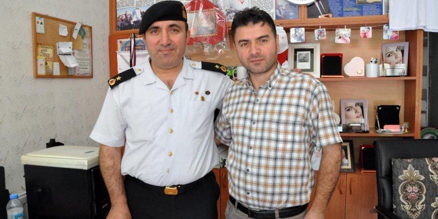 Jandarma komutanı Demir veda ziyaretlerine başladı
