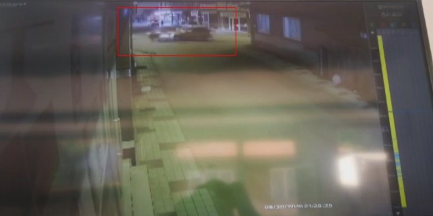 6 kişinin yaralandığı kaza kameraya yansıdı