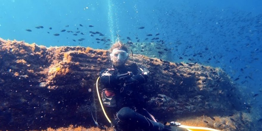 Türkiye'nin ilk ve tek 'Su Altı Milli Parkı'nda dalış turizmi