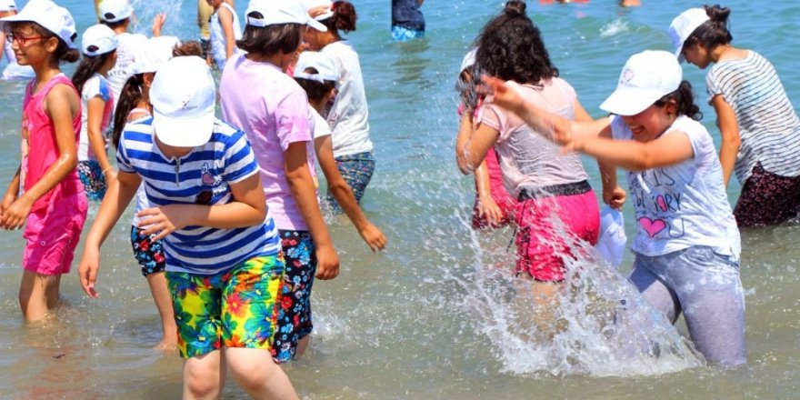 Deniz görmeyen çocukların hayali gerçek oldu