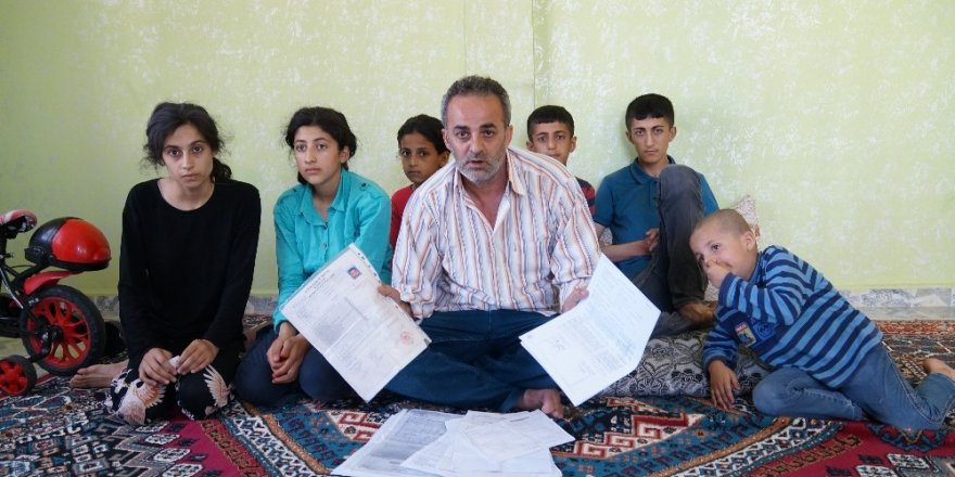 7 çocuklu aile yardım bekliyor