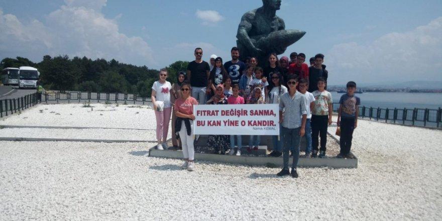 Bozkır'da başarılı öğrencilerÇanakkale gezisi ile ödüllendirildi