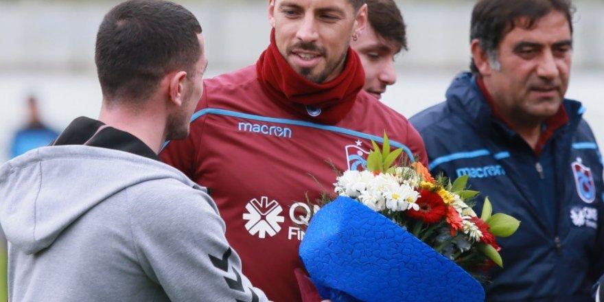Trabzonspor kaptan Sosa ile görüşecek