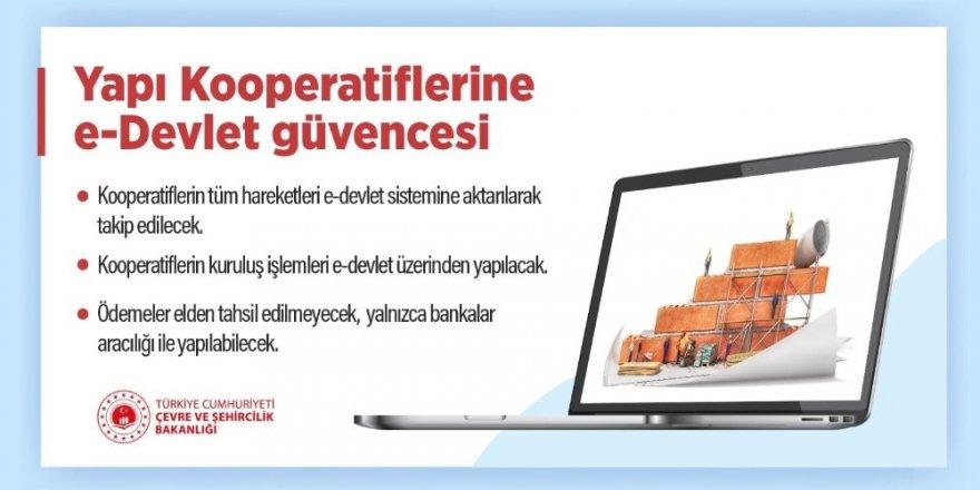 Yapı kooperatiflerine e-Devlet güvencesi