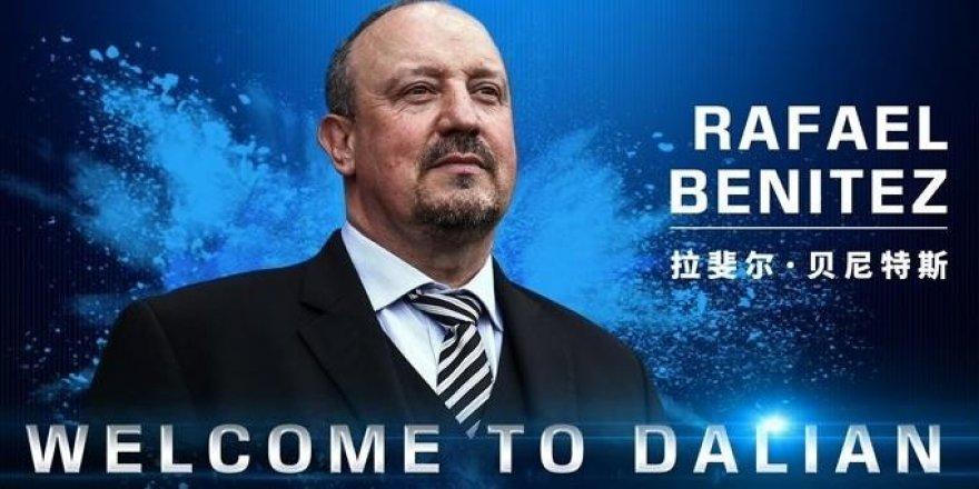 Rafael Benitez, Çin'in Dalian Yifang takımıyla anlaştı
