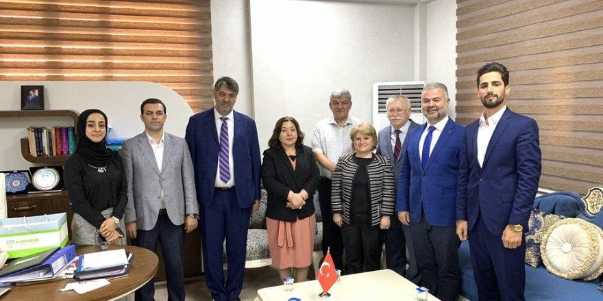 Rektör Şahin, Irak'ta temaslarda bulundu