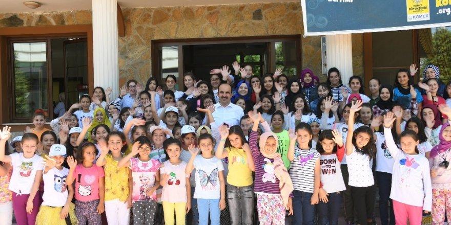 Başkan Altay, Genç KOMEK Yaz Okulu öğrencileriyle buluştu